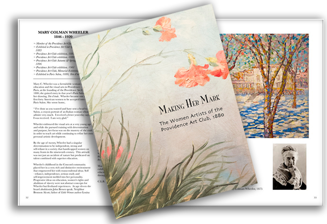 Making her Mark, The Catalogue