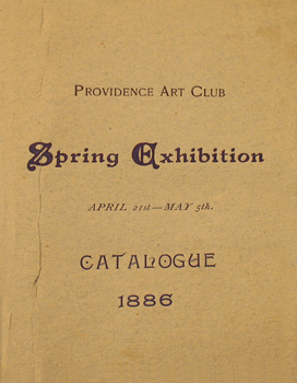 THUMBNAIL - 1886, April 21-May 5, Spring Exhibition