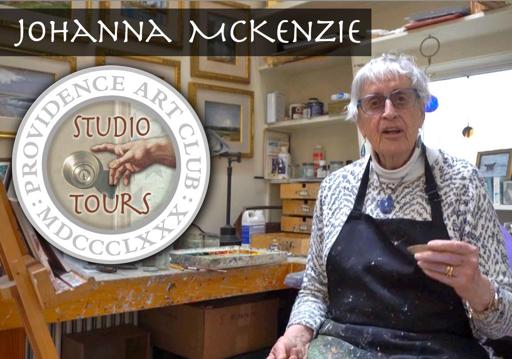 Johanna McKenzie Studio Tour